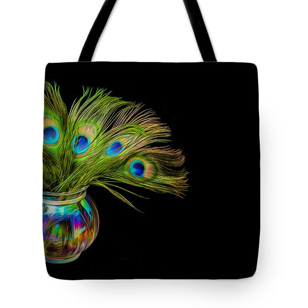 Bouquet Of Peacock Tote Bag