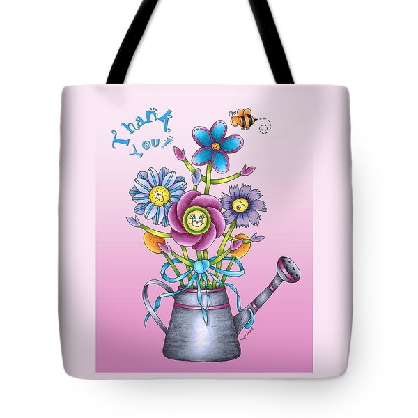 Bouquet Of Praise Rose Card Tote Bag