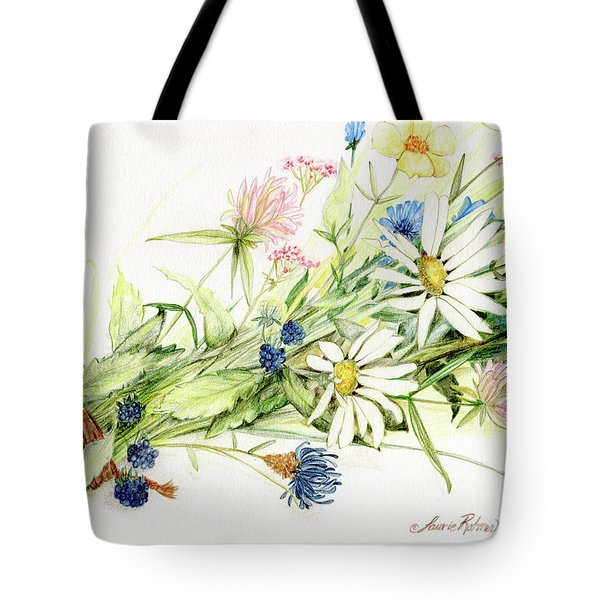 Bouquet Of Wildflowers Tote Bag