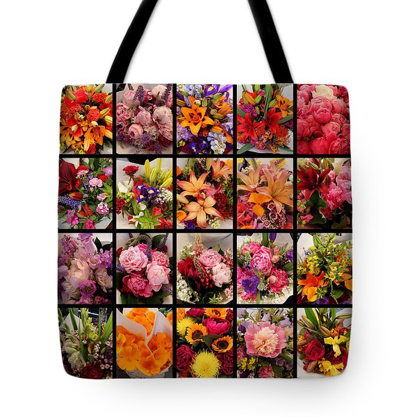Bouquets Tote Bag