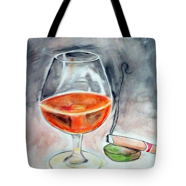 Bourbon And Smoke Tote Bag