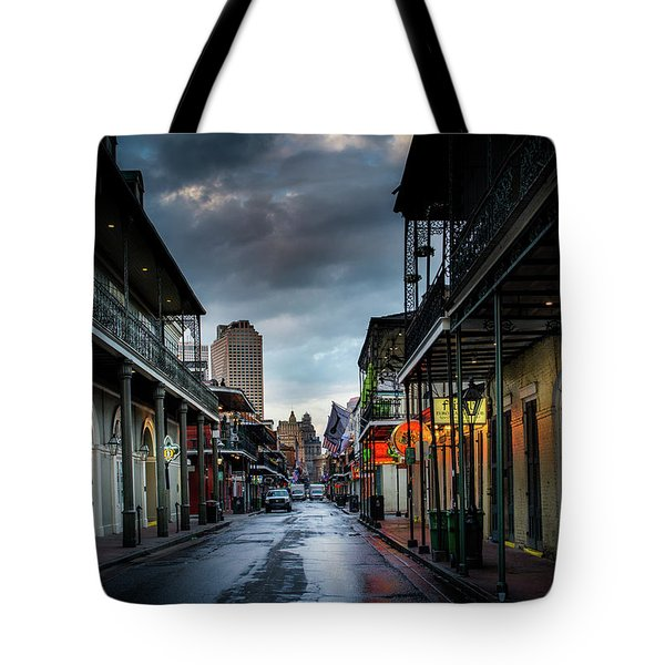 Bourbon Rain Tote Bag