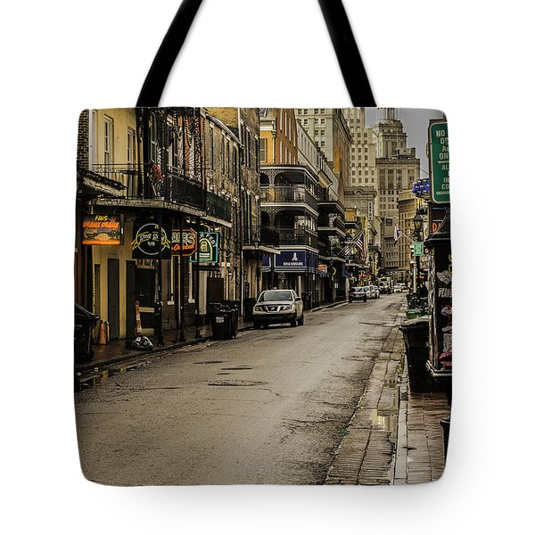 Bourbon Street By Day Tote Bag