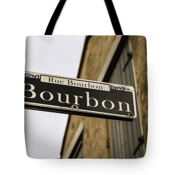 Bourbon Street, New Orleans, Louisiana Tote Bag