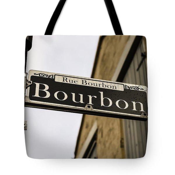 Bourbon Street, New Orleans, Louisiana Tote Bag