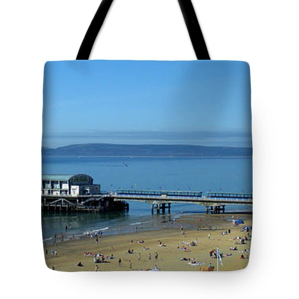 Bournemouth Pier Dorset - May 2010 Tote Bag