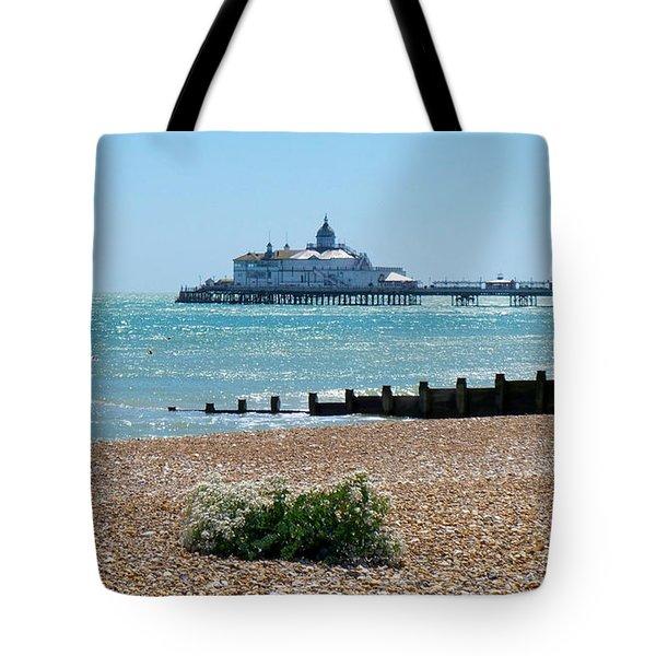 Bournemouth Seaside View Tote Bag