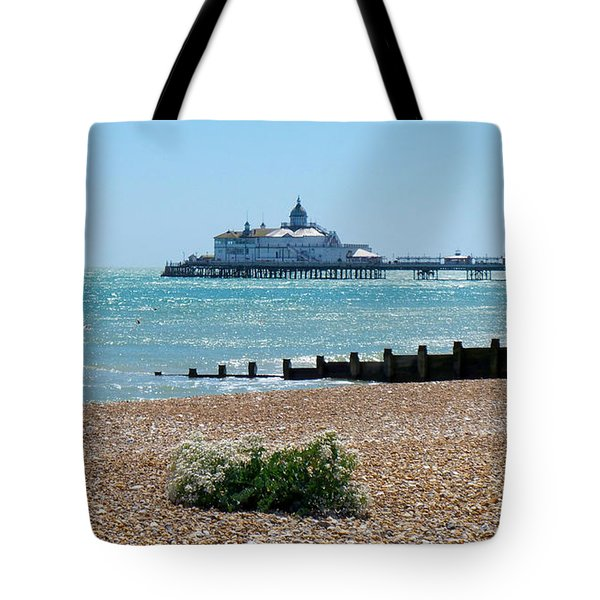 Bournemouth Seaside View Tote Bag