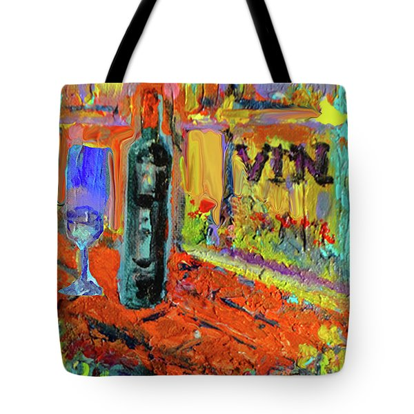 Boutique De Vins Francais 4 Tote Bag