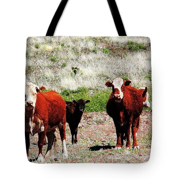Bovine Tote Bag
