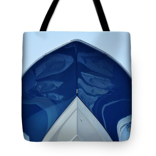bow, deep V Tote Bag