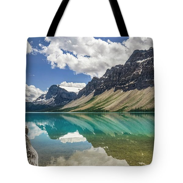 Tote Bag featuring the photograph Bow Lake by Christina Lihani