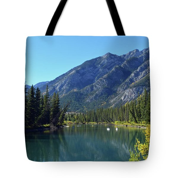 Bow River No. 2-1 Tote Bag