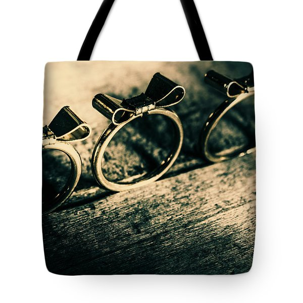 Bow Tie Event Tote Bag