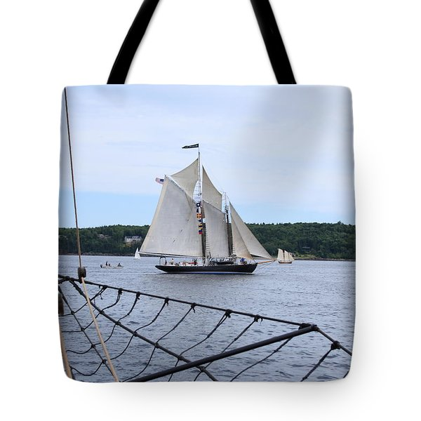 Bowditch Under Full Sail Tote Bag