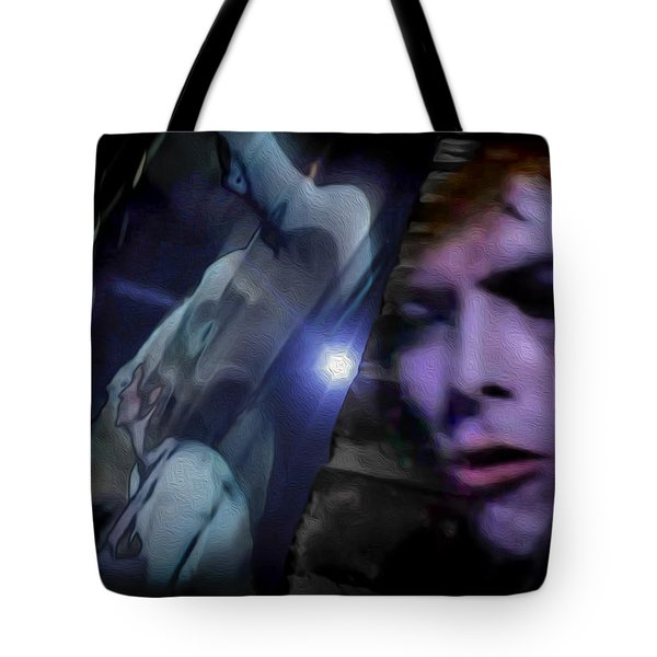 Bowie   A Welcome Star Tote Bag