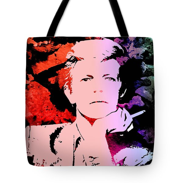 Bowie Alive In Color Tote Bag