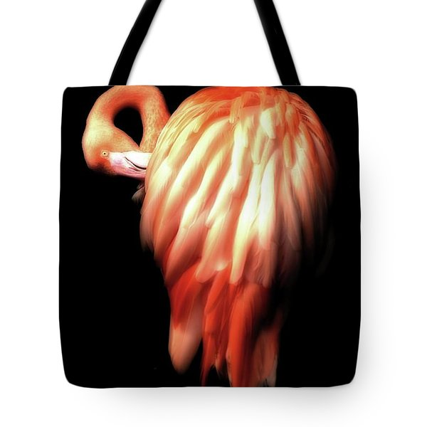 Bowie Flamingo Tote Bag