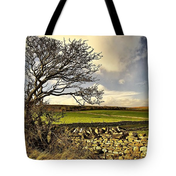 Bowing To The Wind Tote Bag