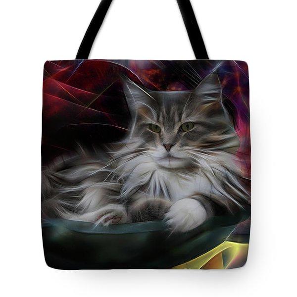 Bowl Of More Fur Tote Bag