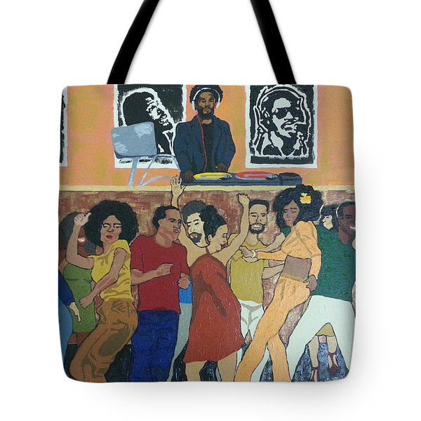 Bowl Train Tote Bag