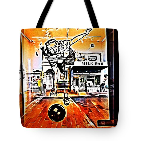 Bowling For Dollars Tote Bag