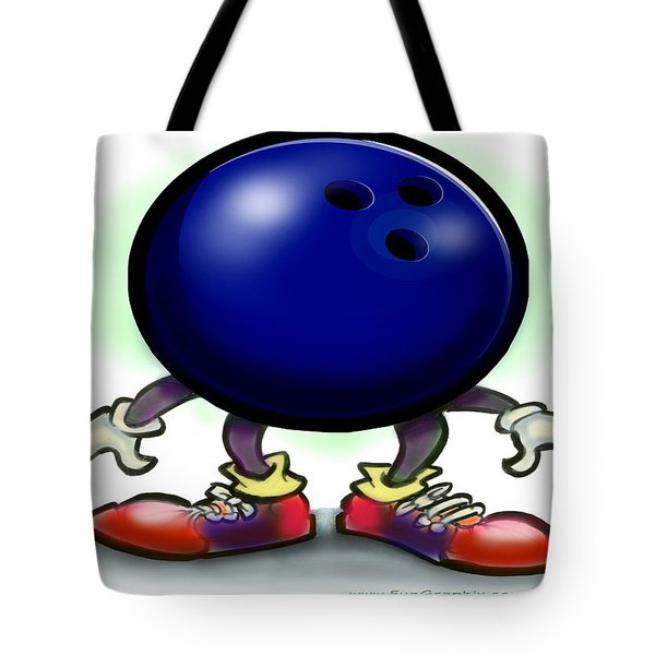Bowling Tote Bag by Kevin Middleton
