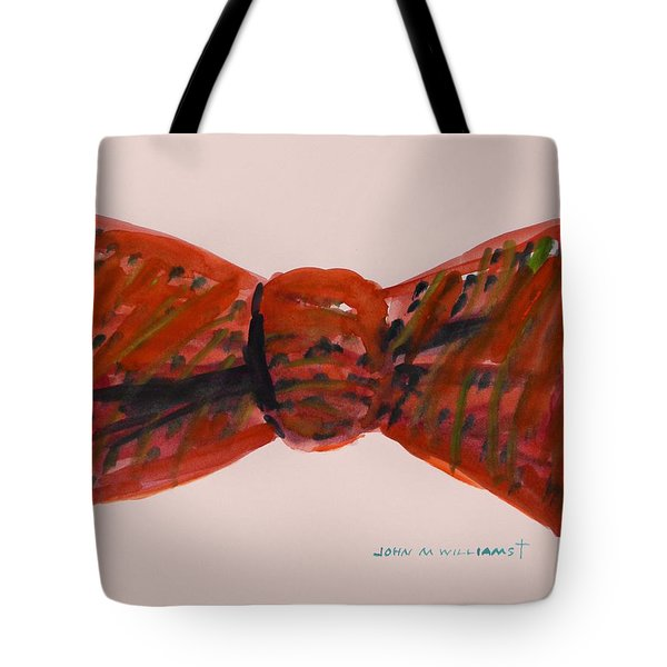 Bowtie 1 Tote Bag by John Williams