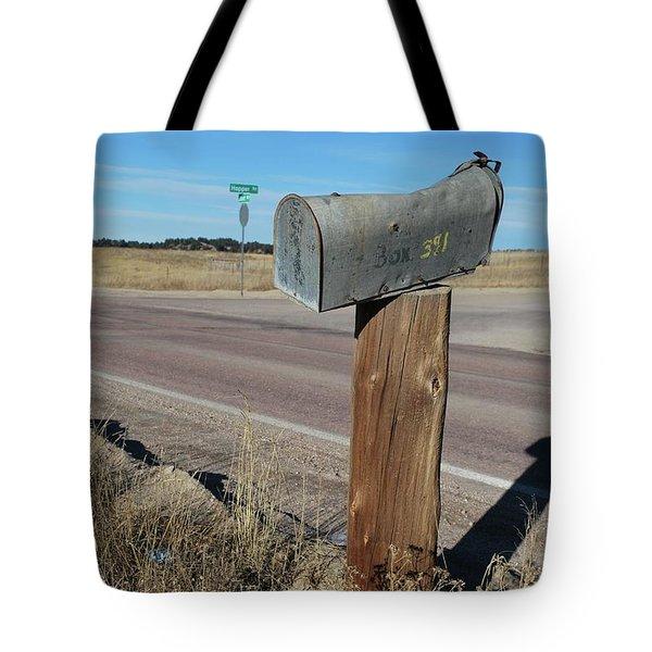 Box 391 Tote Bag