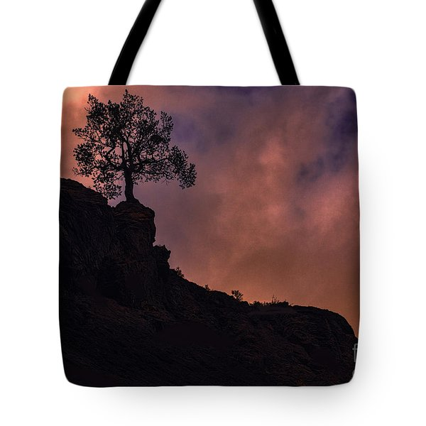 Box Canyon Sunset Tote Bag