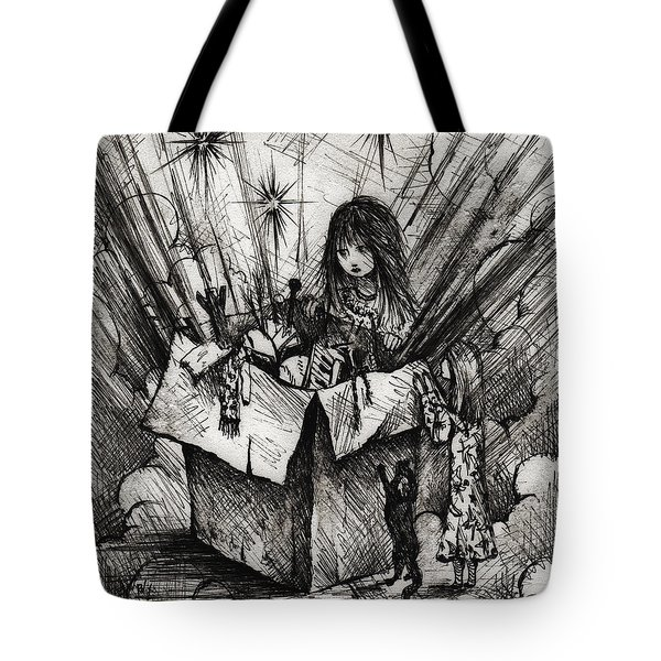 Box Of Dreams Tote Bag