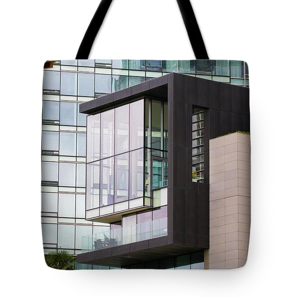 Tote Bag featuring the photograph Boxed In by Chris Dutton