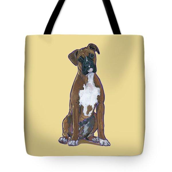 Boxer Bentley Tote Bag