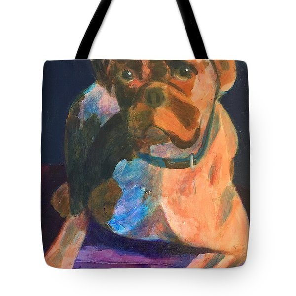 Boxer Tote Bag by Donald J Ryker III