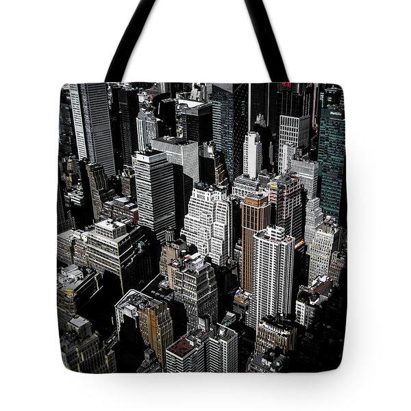 Boxes Of Manhattan Tote Bag