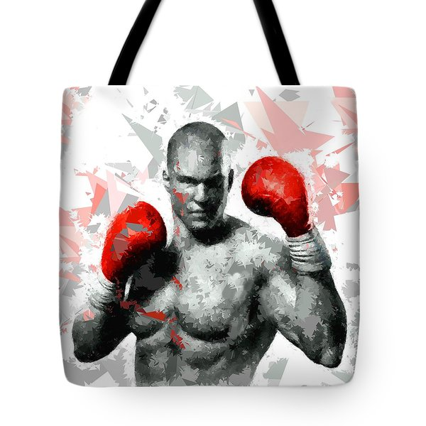 Tote Bag featuring the painting Boxing 114 by Movie Poster Prints