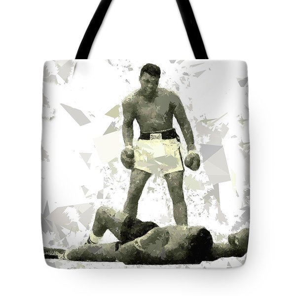 Tote Bag featuring the painting Boxing 115 by Movie Poster Prints
