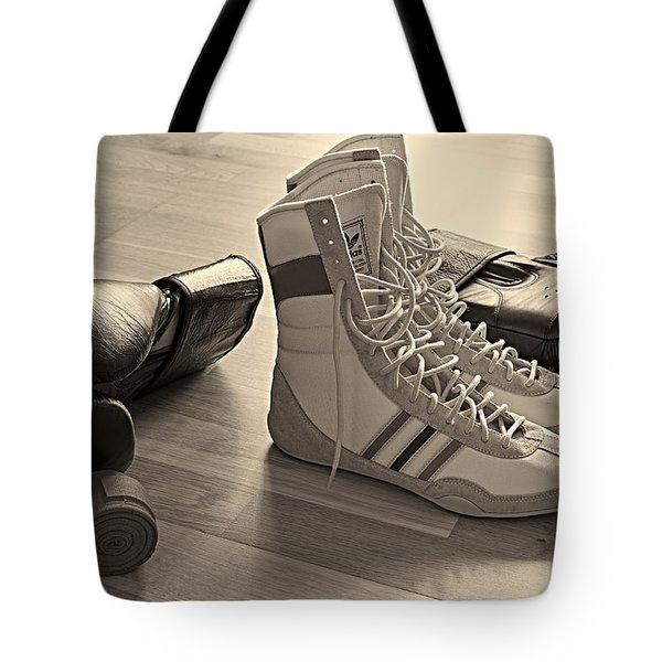 Boxing Tote Bag