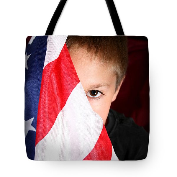 Boy And His Country Tote Bag