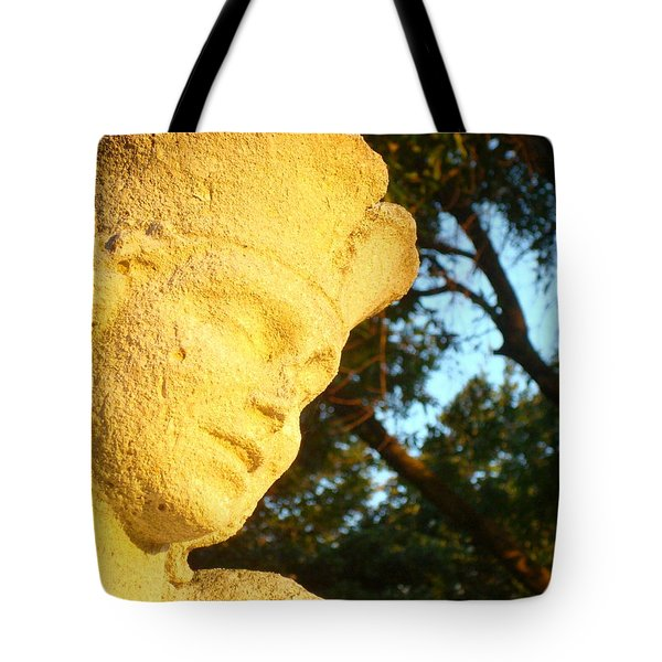 Boy Enjoys Sunrise Tote Bag