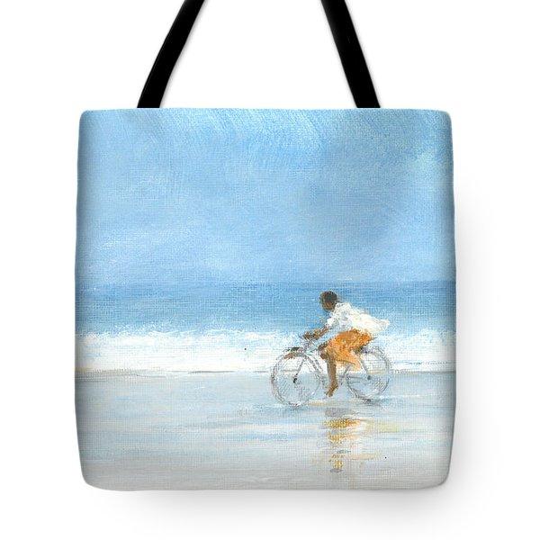Boy On A Bike  One Tote Bag
