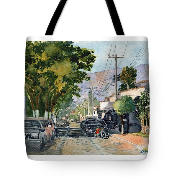Boy With Bike, Mx Tote Bag