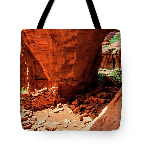 Boynton Canyon 04-647 Tote Bag by Scott McAllister