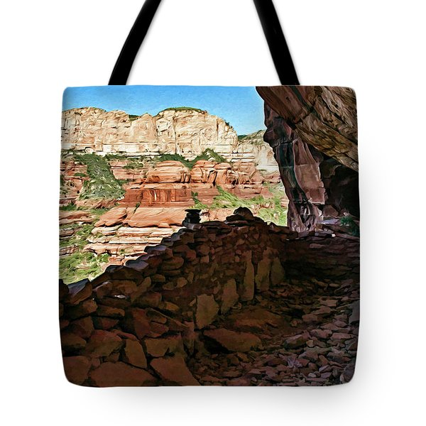 Boynton Canyon 05-1019 Tote Bag by Scott McAllister