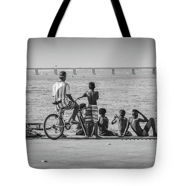 Boys From Brazil Tote Bag