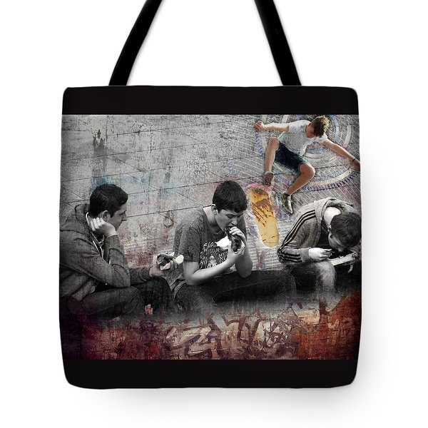 Boys Will Be Tote Bag