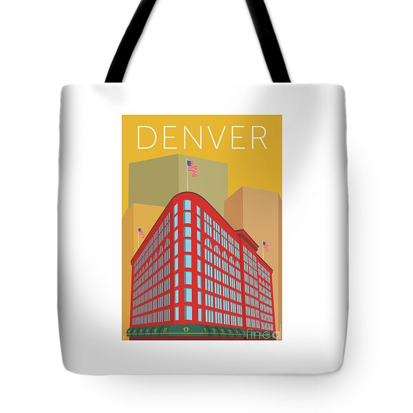 Denver Brown Palace/gold Tote Bag