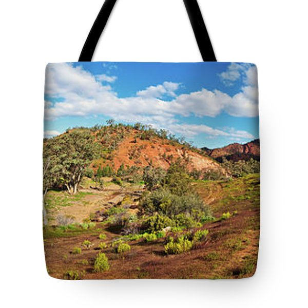 Bracchina Gorge Flinders Ranges South Australia Tote Bag by Bill Robinson