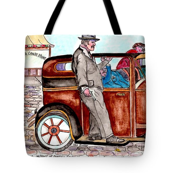 Bracco Candy Store - Window To Life As It Happened Tote Bag