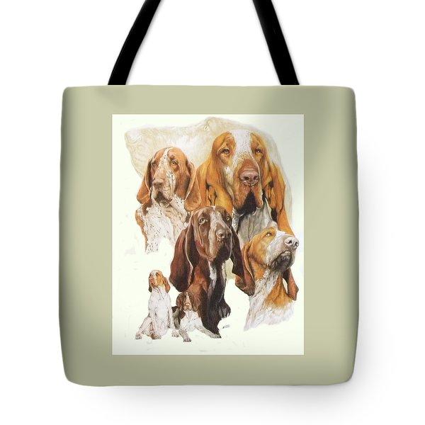 Bracco Italiano Medley Tote Bag